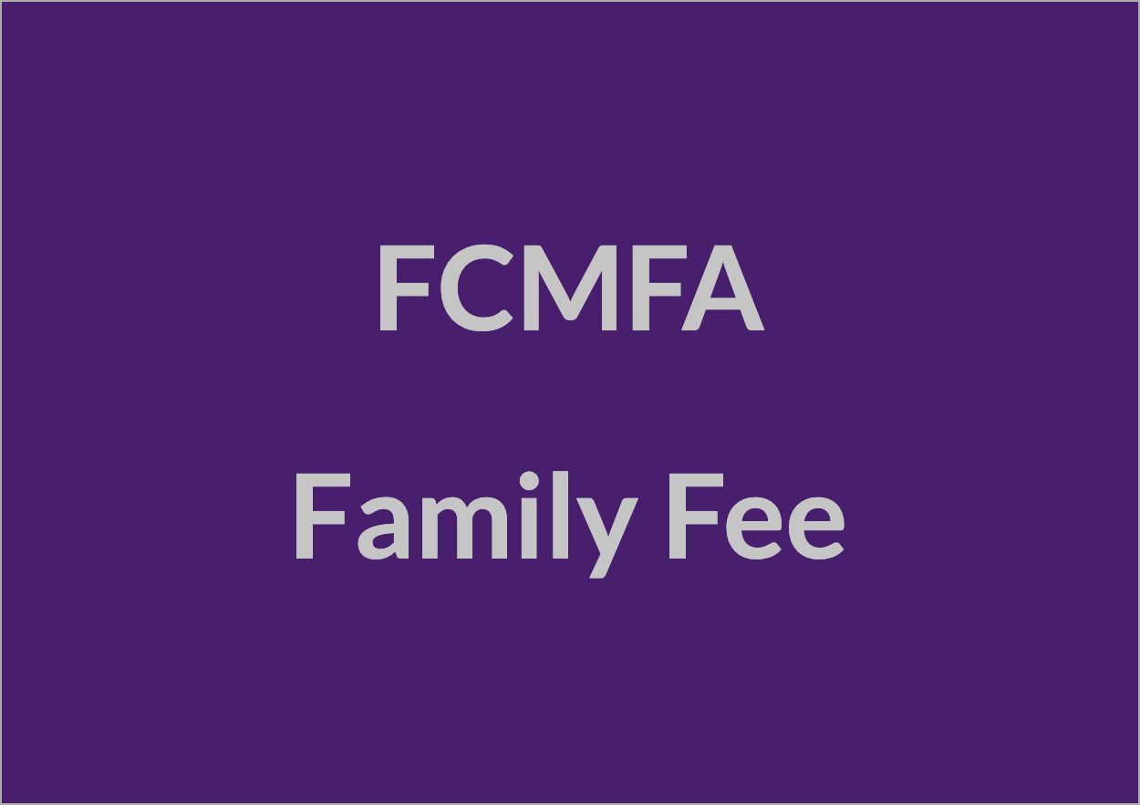 FCMFA Family Fee